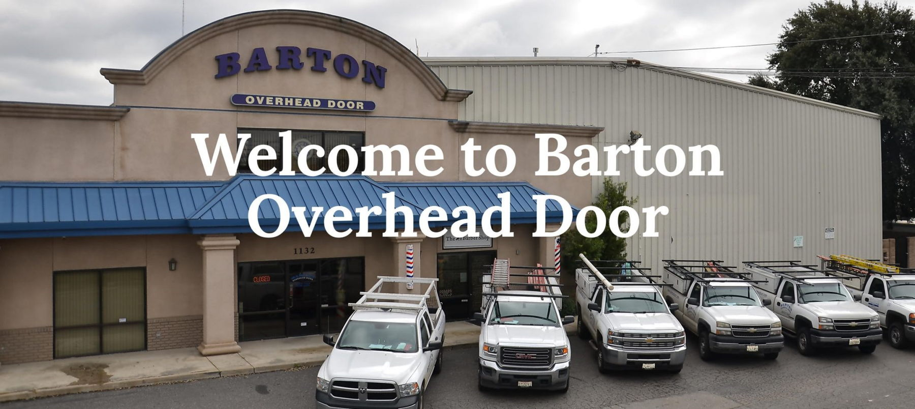 Welcome to Barton Overhead Door, Inc. We service and install garage doors in Modesto, Sonora, and surrounding areas.