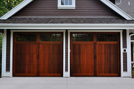 Wood Garage Doors Barton Overhead Door Inc