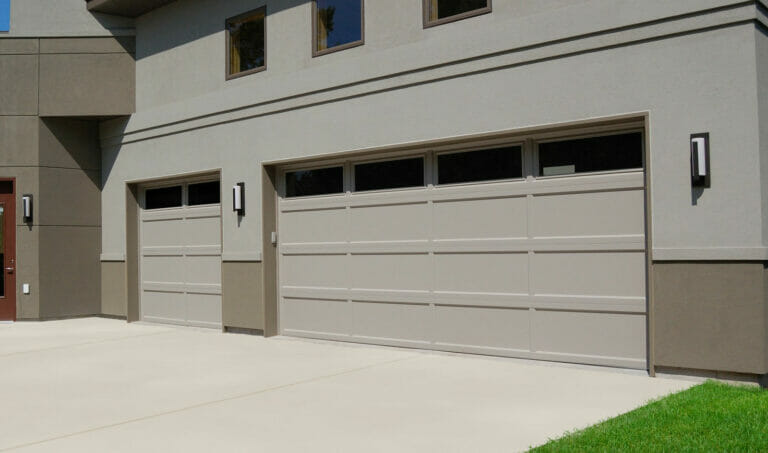 CHI Recessed Panel Garage Door Detail