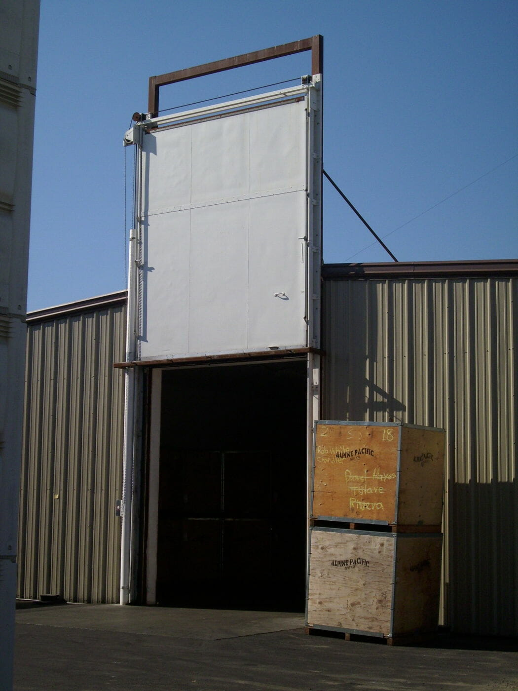 Fumigation Doors Barton Overhead Door Inc