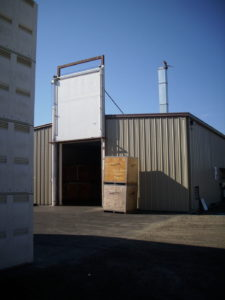 Barton Fumigation Doors In Nut facility