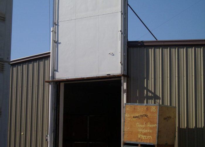 Beau ... Installed Fumigation Door ...