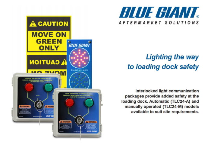 Blue Giant Loading Dock Communication