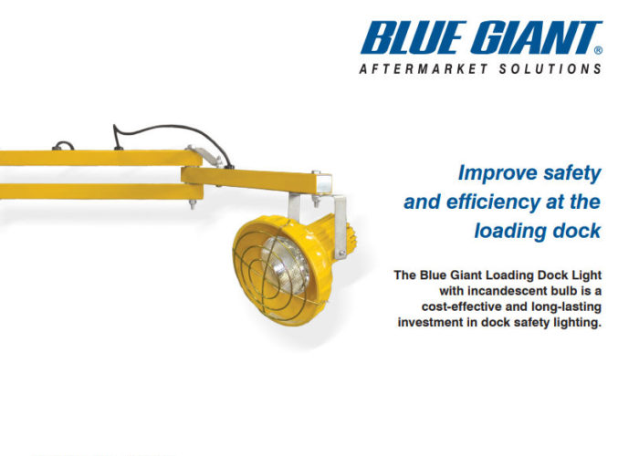 Blue Giant Loading Dock Light
