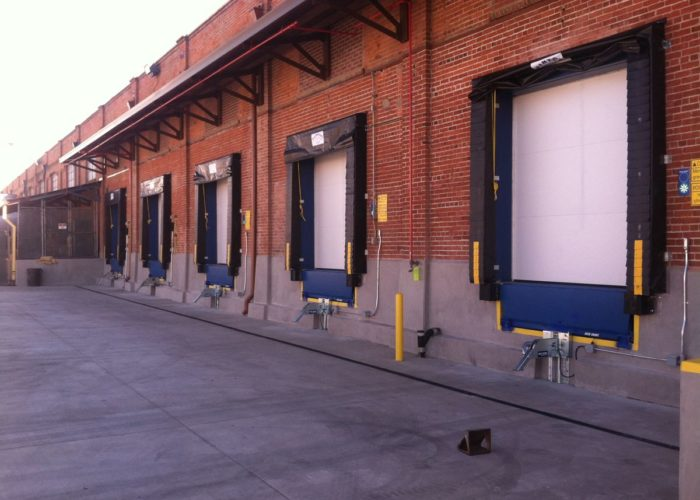 Loading Dock Seal Brick Building