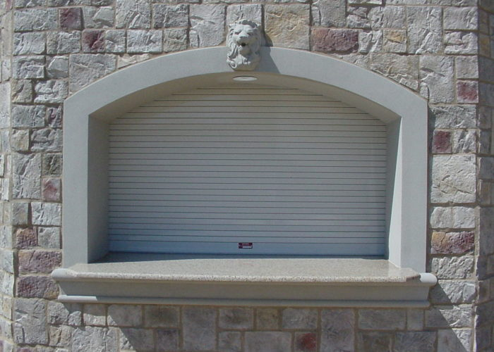 ... Stone Building with Rolling Counter Door ... : counter doors - pezcame.com