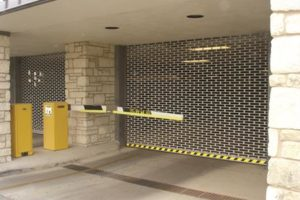Cookson Security Grilles in Parking Garage