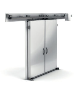 Bi-parting Horizontal Hercules Freezer Door