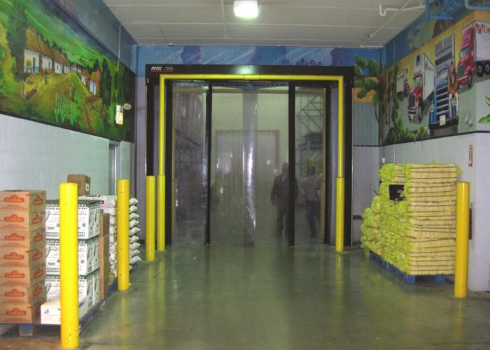 Cold Storage Folding Door