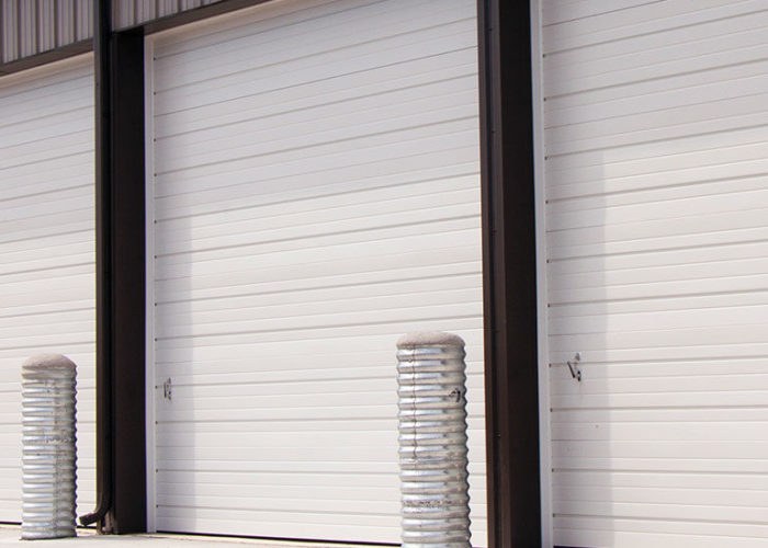 Commercial Sectional Doors Installed