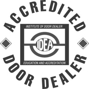 IDEA Accredited Garage Door Dealer