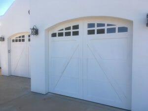 Custom Arch Carriage House Door