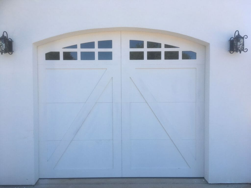 Custom Arch Carriage House Door 3