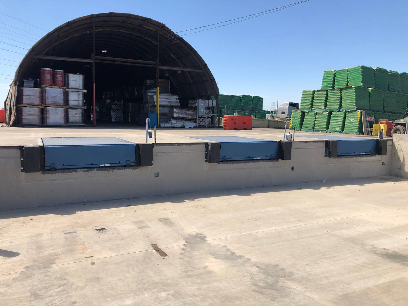 Loading Dock Installation Near Stockton Ca Barton