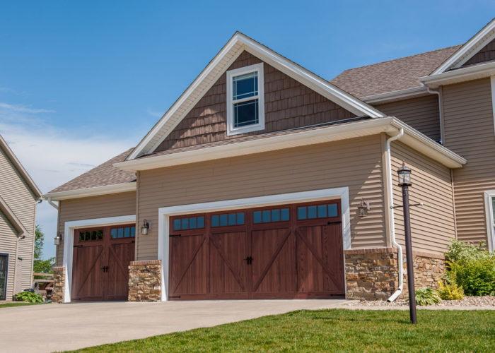 Wood Tone Garage Door Barton Overhead Door Inc