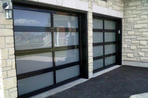 CHI Full-View Glass Garage Door