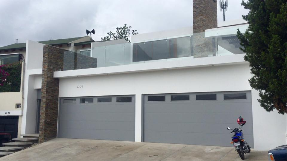 Genial CHI Flush Panel Garage Door
