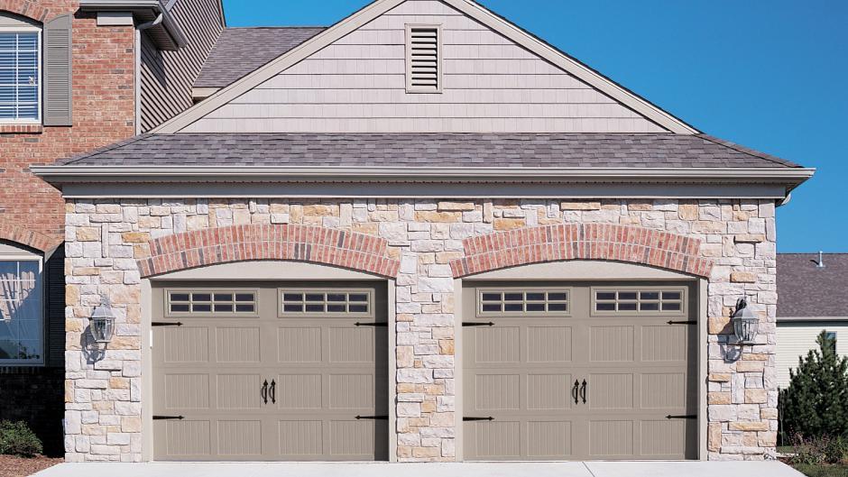CHI Stamped Carriage House Garage Door