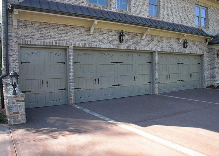 Three Carriage House Garage Doors ...