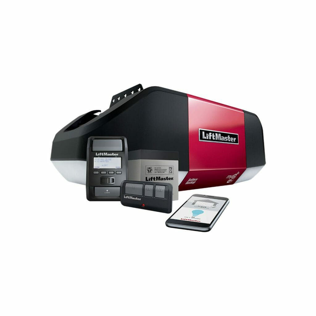 Liftmaster WLED Garage Door Opener and Accessories