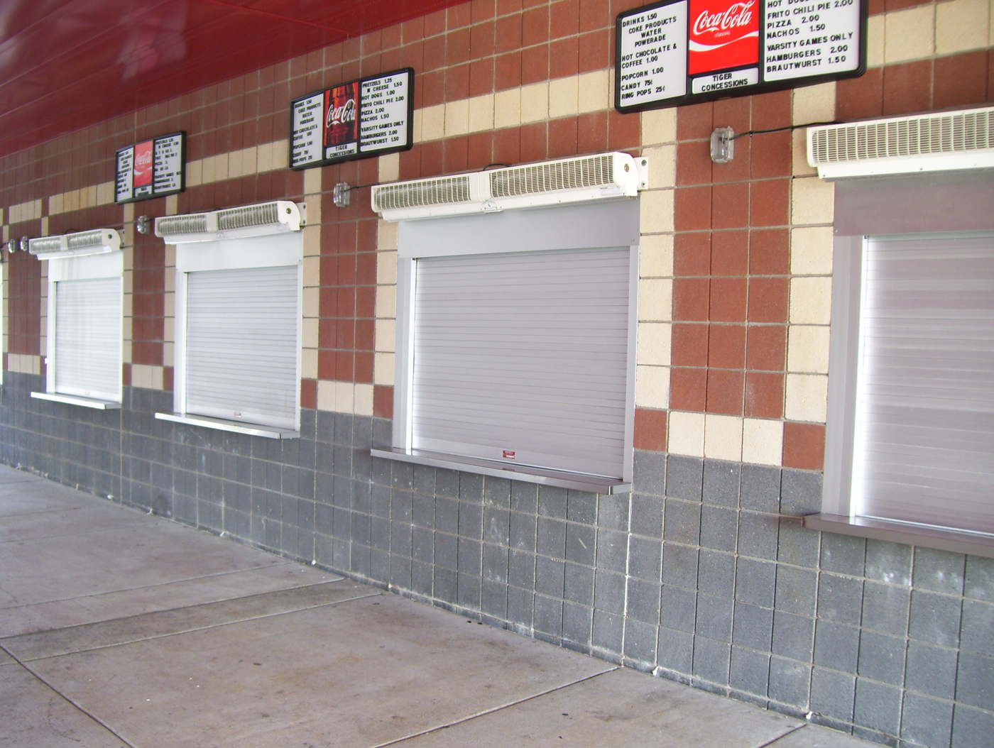 Rolling Counter Shutter Barton Overhead Door Inc